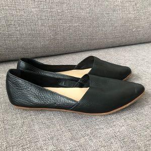 Women's black Aldo slip on shoes
